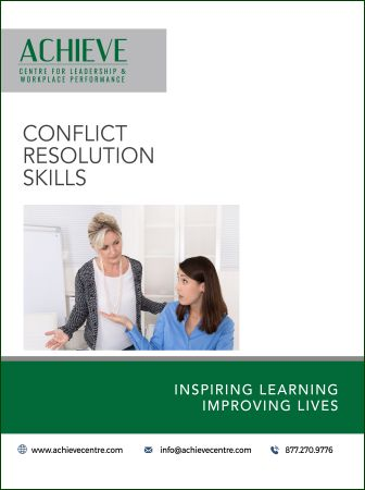 Image of Conflict Resolution Skills manual