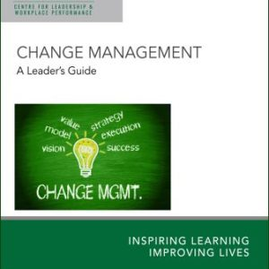 Change Management - A Leader's Guide manual cover