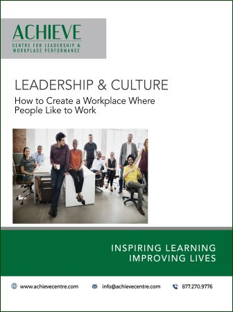 Image of Leadership and Culture manual