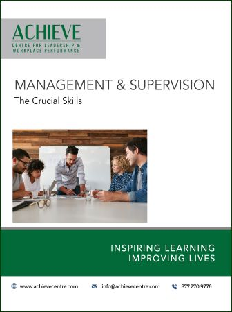 Image of Management and Supervision workshop manual cover