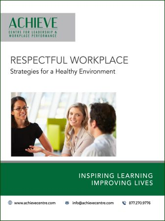 Image of Respectful Workplace manual