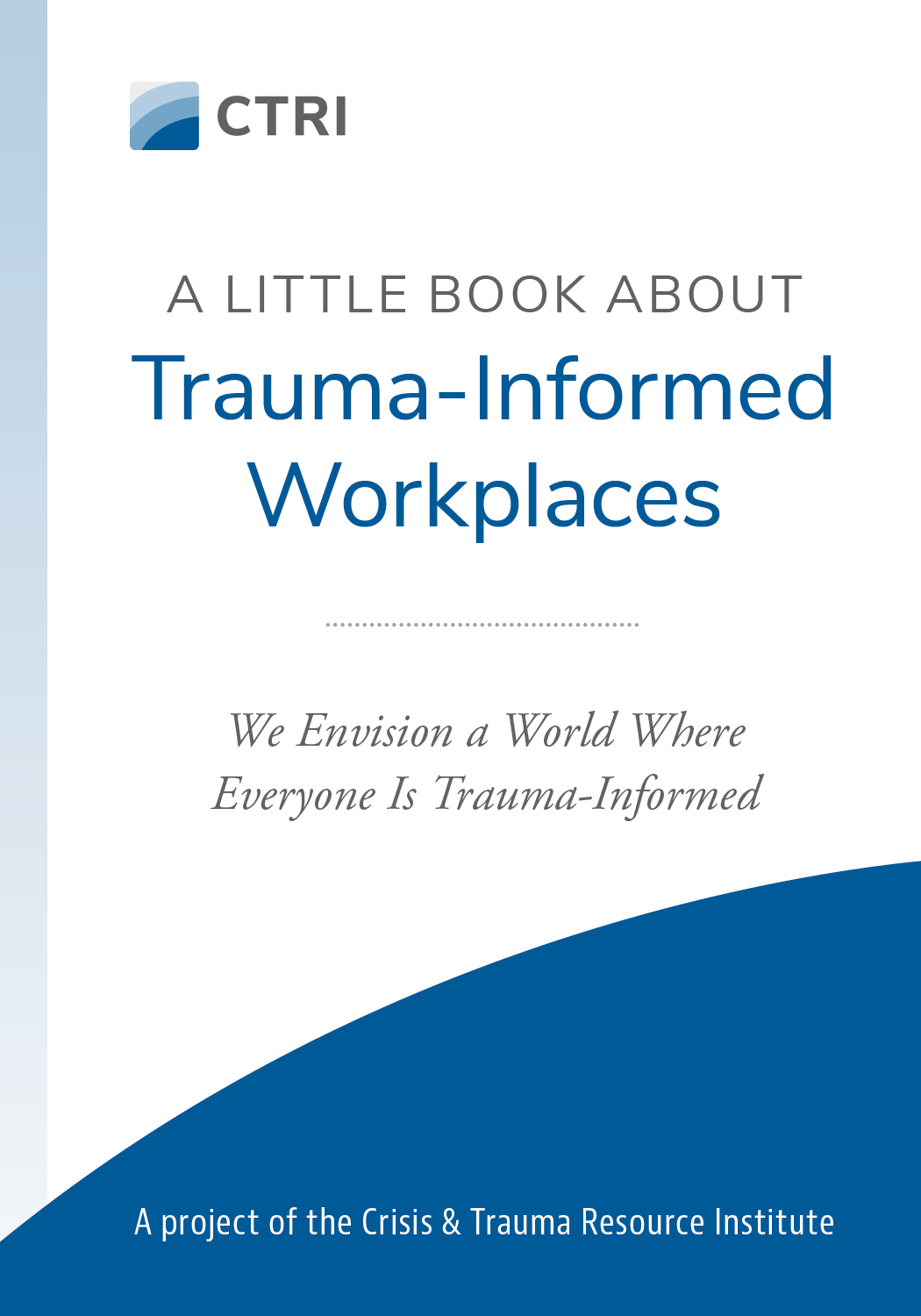 Trauma-Informed Workplaces book cover